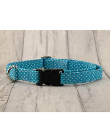 Pale Blue Cotton collar