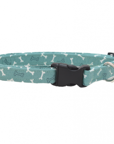 green bones fabric collar