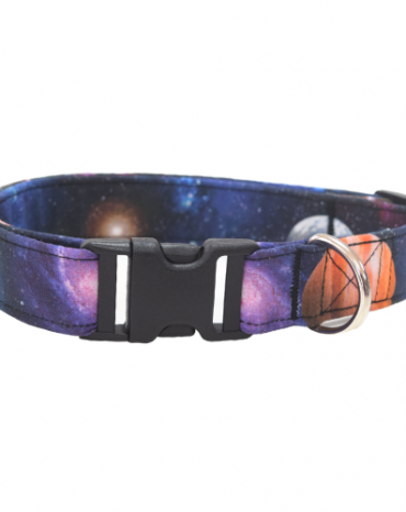 space fabric collar