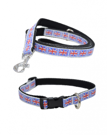 Best of British collar and lead