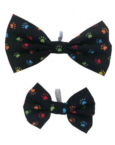 Black paws Bow Ties