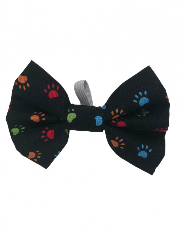 Black paws Bow Ties – small