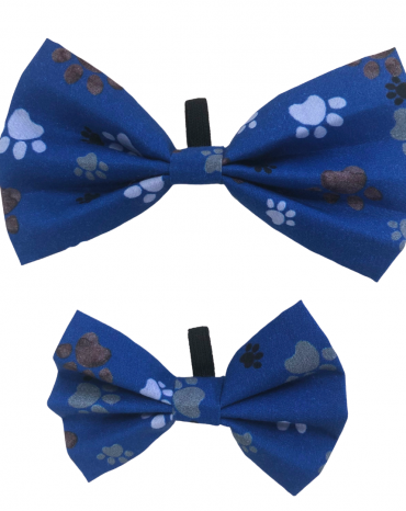 Blue paws Bow Ties