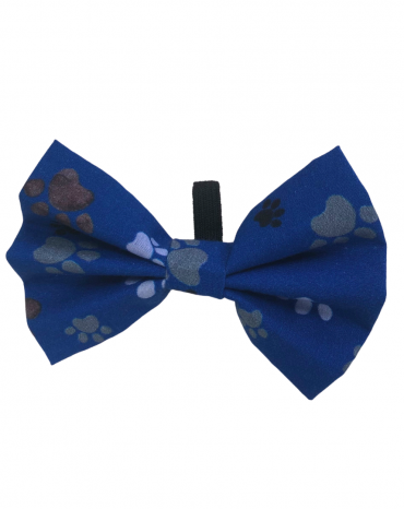 Blue paws Bow Ties – small (1)