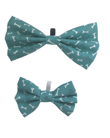 Green bones Bow Ties