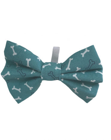 Green bones Bow Ties – small