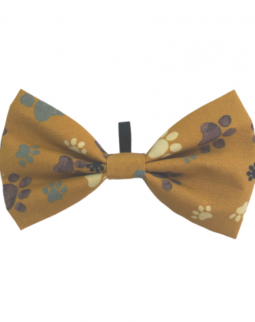 Mustard Paws Bow Ties – Large