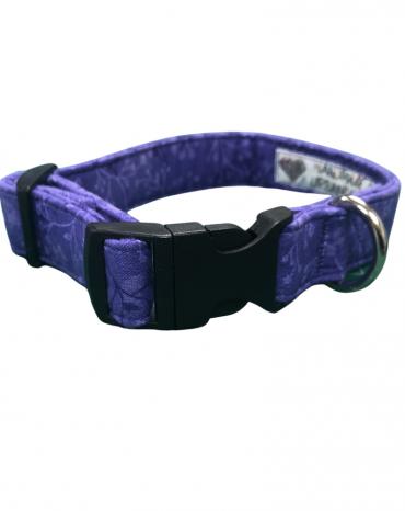 Purple flowers collar etsy copy