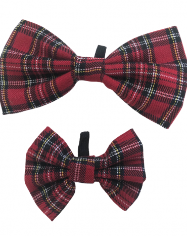Red Tartan Bow Ties