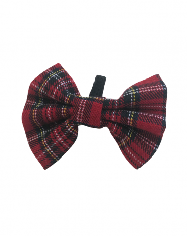 Red Tartan Bow Ties – small
