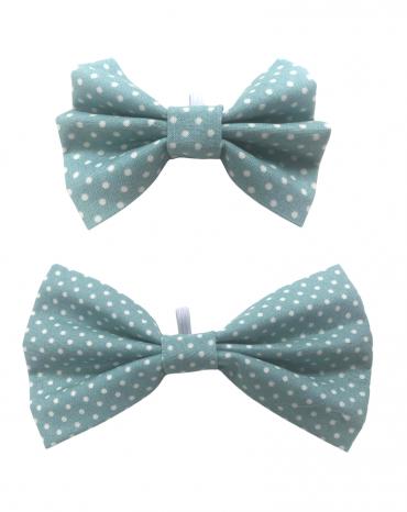 green spots bow tie – both website