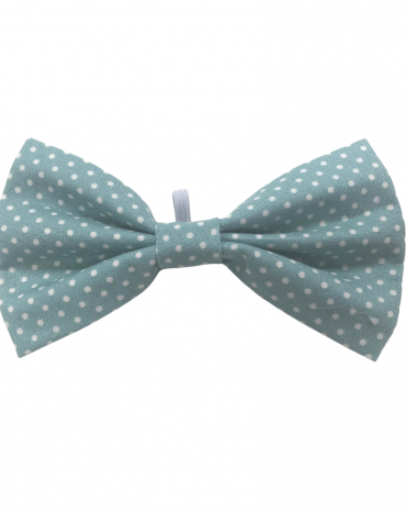 green spots bow tie – large