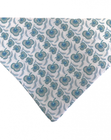 Blue clover bandana copy
