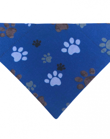 Blue paws bandana copy