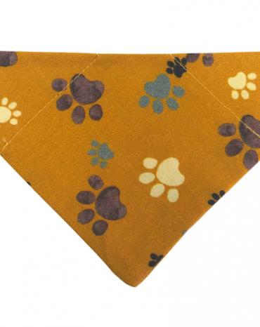 Mustard paws bandana copy