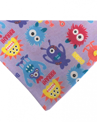 Purple Monsters bandana copy