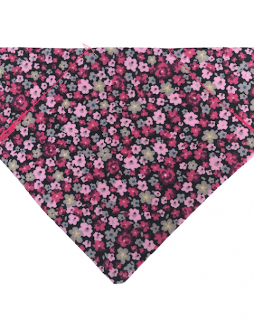 pink flowers bandana copy