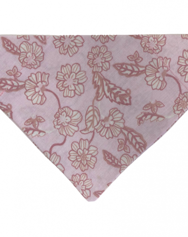 pink flowers on pink bandana copy