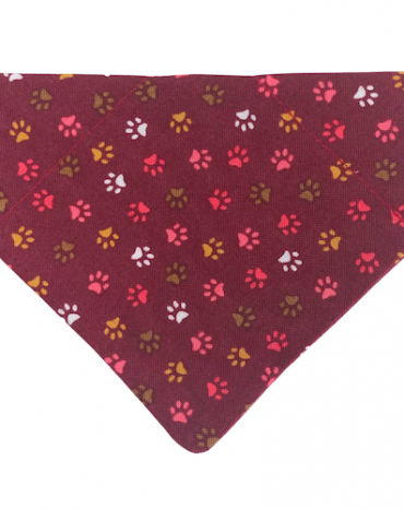 red paws bandana copy
