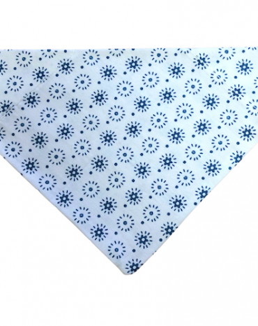 white and blue flowers bandana copy
