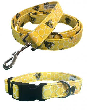 Bees Collar and lead copy